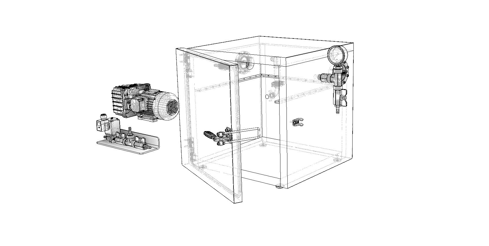 custom vacuum chamber design