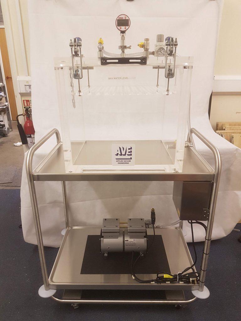 Custom ACB72-PT with trolley