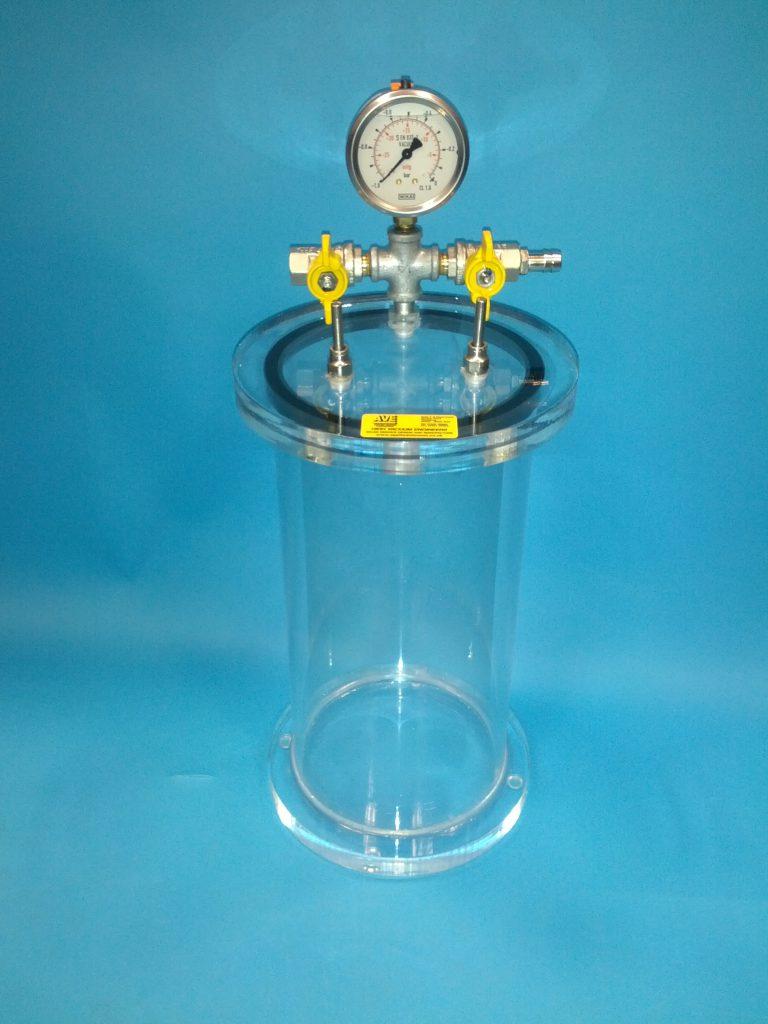 Acrylic Degassing Chamber (Small)